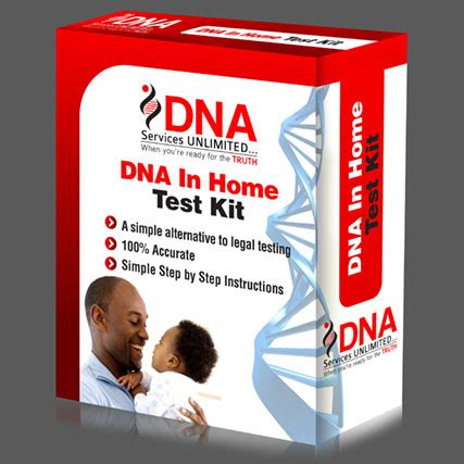 dna services unlimited dna in home test kit