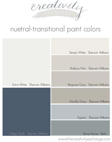choosing a paint color palette for the whole home the creativity exchange
