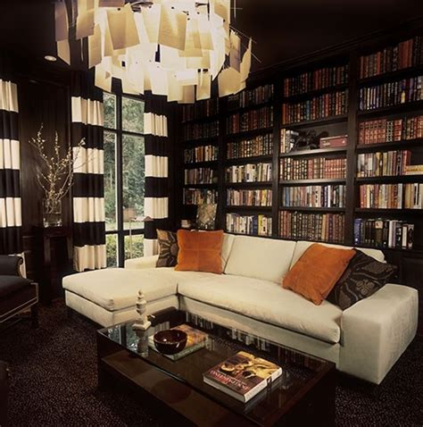 living room library private library