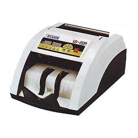 Secure Ld 1000s Mesin Hitung Uang Laminating Papershredder Jilid Fax secure ld22a money counter