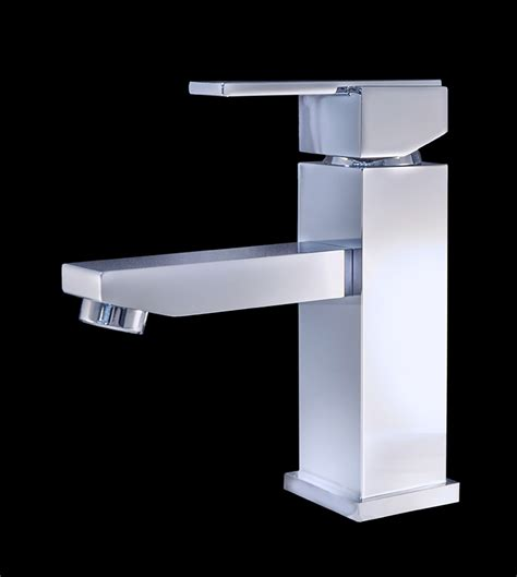 bianze i chrome finish modern bathroom faucet