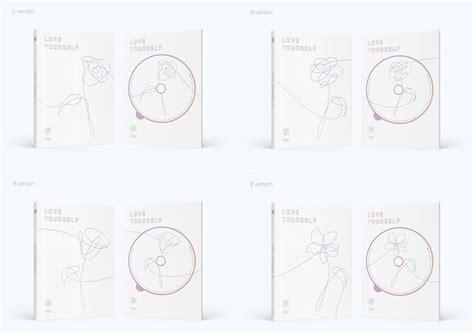 bts album love yourself bts mini album vol 5 bts love yourself 承 her sgkpopper