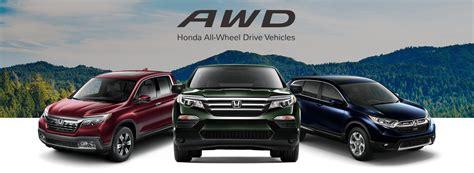 honda vehicles honda awd hr v cr v pilot all wheel drive safety