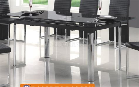 american eagle dining table 102dt dining table in black by american eagle w optional
