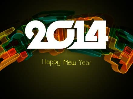 creative happy new year 2014 happy new year 2014 background creative design 05 vector