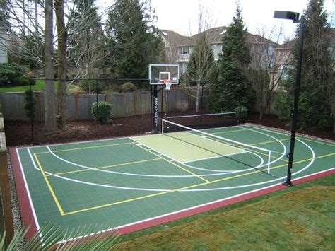 sports court vancouver bc installation repair resurface