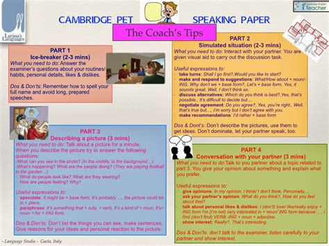 Tips For Speaking 2 by Speaking Tips And Practice My