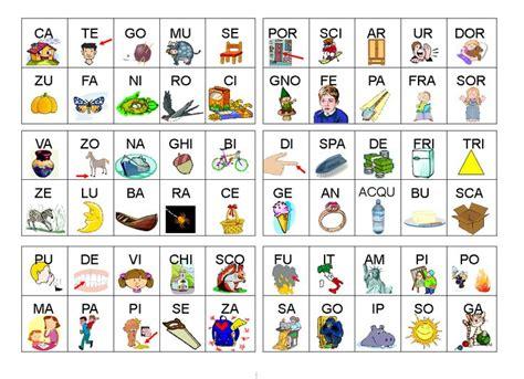 formare parole con lettere sparse trenino x strutturazione frase da stare cerca con