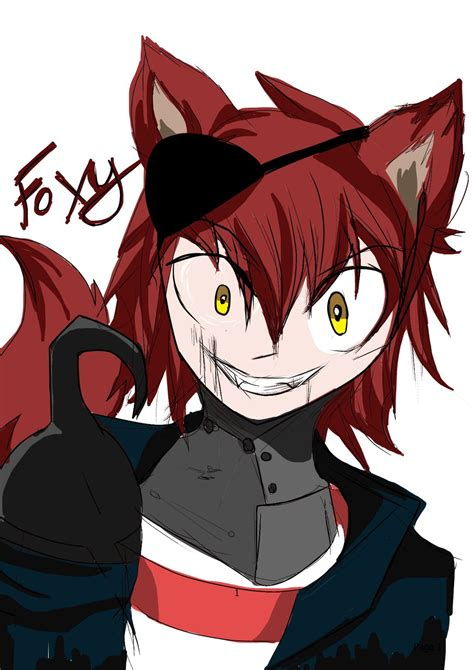 imagenes anime five nights at freddys five nights at freddy s foxy by xxepicnekowolfxx on