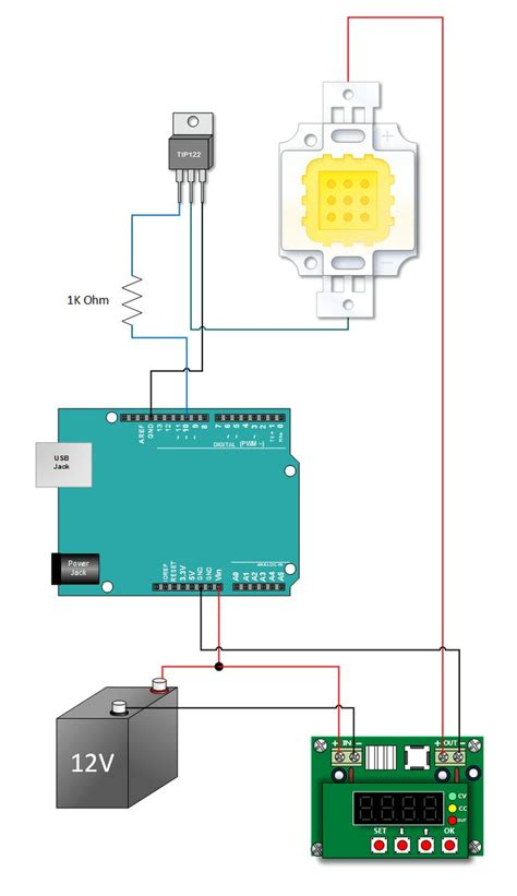 arduino tutorial site du zero henry s bench 10w high power arduino pwm tutorial int