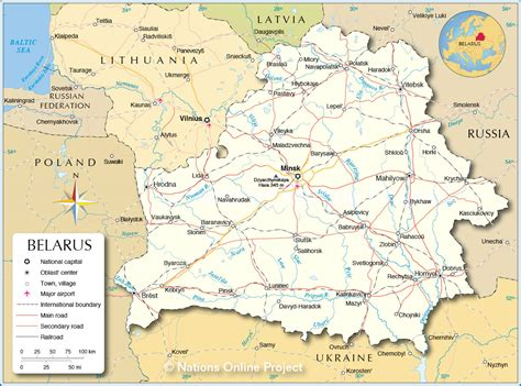 political map of belarus wei 223 russland alte karte