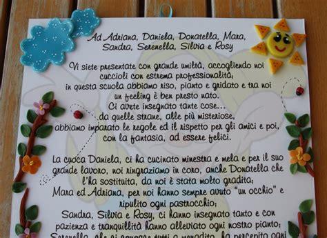 lettere di ringraziamento alle maestre frasi di ringraziamento per maestre nido