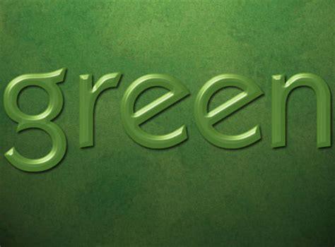 Font Green green text effect psd background font textuts