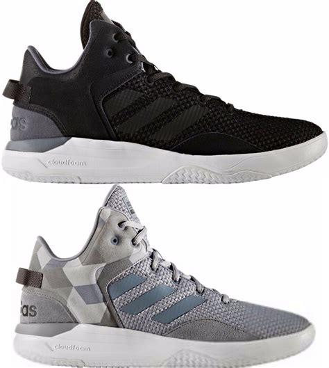 adidas s neo cloudfoam revival mid casual shoes sneakers new ebay