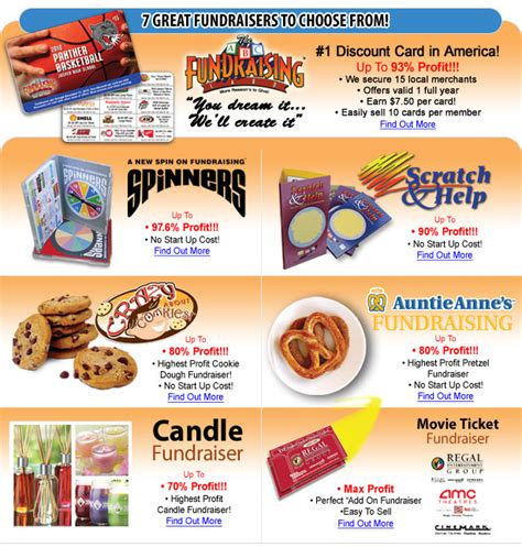 Gift Card Fundraiser Canada - school fundraising business plan