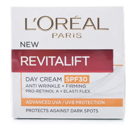 Loreal Day And l oreal revitalift day spf30 chemist direct