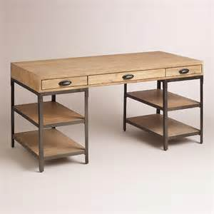 wood desk rooms