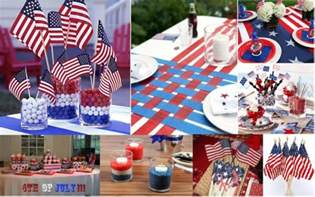 July 4th Table Decorations by Decorations Dishes And Dress For The 4th Of July Chef Vibes