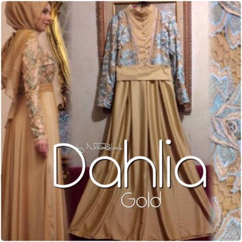 Gamis Soft By Shireen gaun pesta brokat prada sa ma ra boutique butik baju