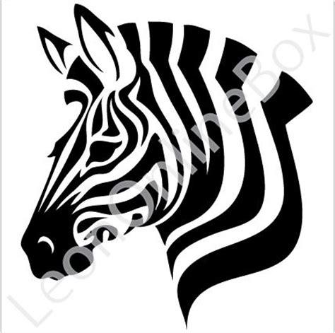 best photos of zebra head template printable zebra mask