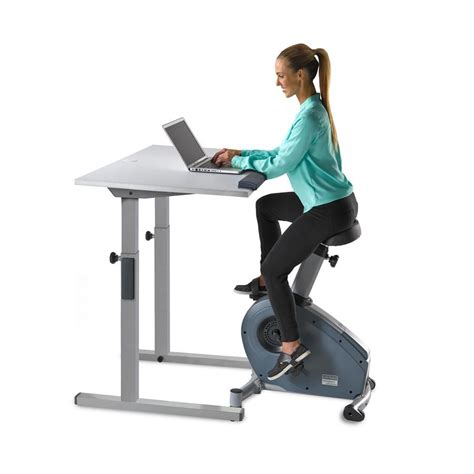 Exercise Bike Desk Lifespan C3 Dt5 Lifespan Workplace Exercise Bike Computer Desk