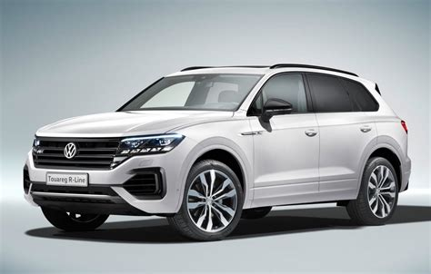 Touareg Vw 2019 by 2019 Volkswagen Touareg Unveiled Gets 310kw V8 Diesel
