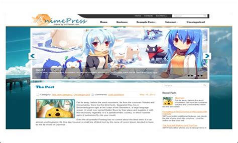 cartoon themes wordpress top 15 elegant cartoon wordpress responsive themes