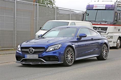 Letter Vs Coup 2018 Mercedes Amg C63 R Coupe Comes To Crash The Bmw M4 Gts Autoevolution