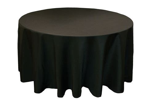 black linen tablecloth ya ya 120 quot round polyester tablecloth round tablecloths