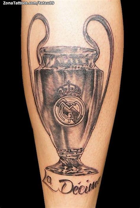 tatuaje de real madrid deportes f 250 tbol