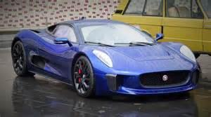 Jaguar Blue Spotlight Blue Jaguar C X75 Concept