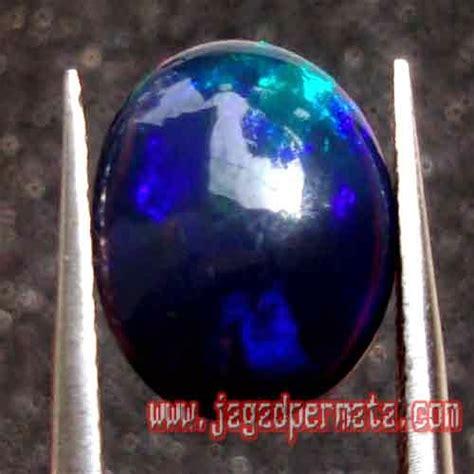 Kalimaya Banten Cutting Oval batu permata black opal kalimaya jual batu permata hobi