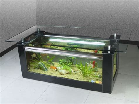 coffee table fish tank will make your house look fresher