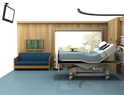 decorate a hospital room better by design how a hospital room can help patients