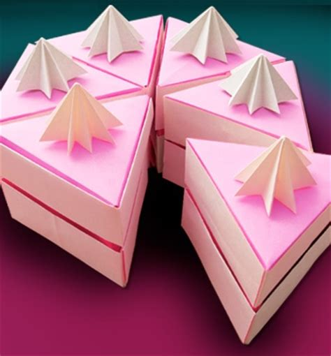 How To Make Origami Cake - 97 best origami box images on origami boxes