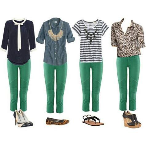 Jean Colors Tops And More Stuff by Como Combinar Pantalon Verde Moda Femenina