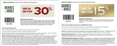Barnes And Noble Gift Card Coupon - barnes and noble coupons and codes printable coupons online