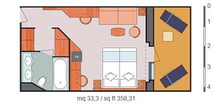 costa crociere luminosa cabine scheda nave costa luminosa con una lunghezza di 294m puo