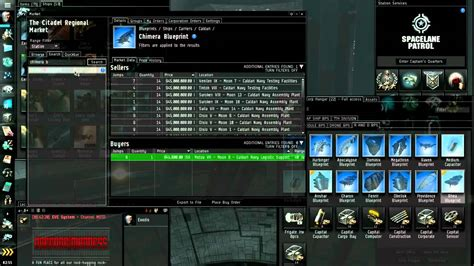eve online thanatos tutorial with discussion on dcus and eve online market industry tutorial part 4 5