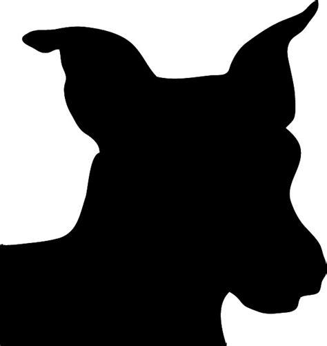 dog head silhouette clip art dog silhouette