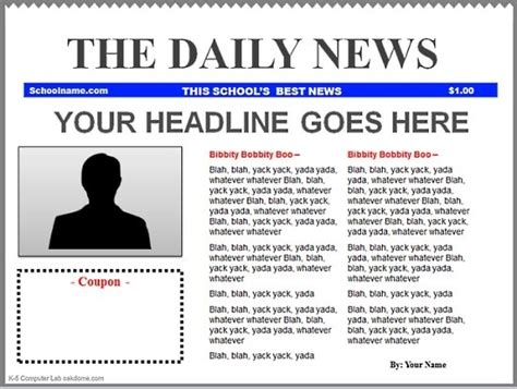 Google Docs Newspaper Template Tryprodermagenix Org Newspaper Template Docs