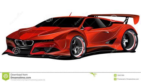 Macchina Da Corsa Rossa Personalizzata M1 Di BMW Immagine