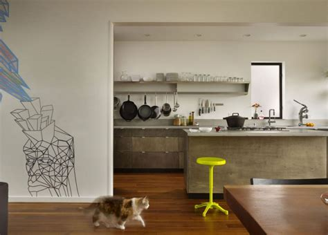 minimalist rustic kitchen interior design with fresh under art filled interior of beet residence ushers in