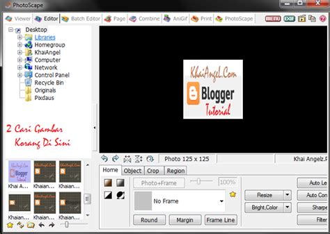 tutorial flash banner tutorial cara buat flash banner menggunakan photoscape