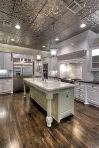 Traditional Kitchen Islands tin ceilings kitchen traditional kitchen tampa