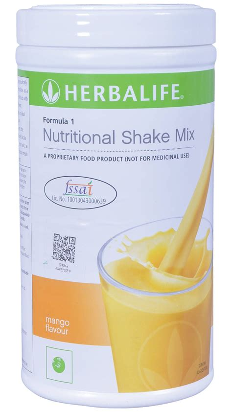 Herbalife F1 Shake herbalife formula 1 shake 500g weight loss mango buy