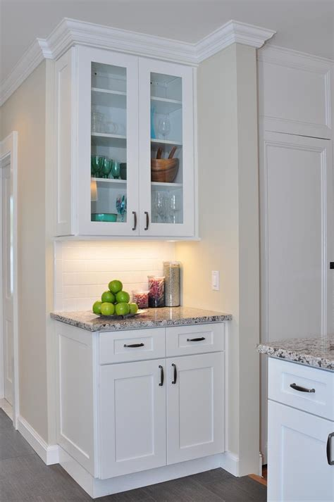 kitchen cabinets in white buy ice white shaker kitchen cabinets online