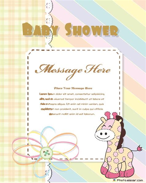 Text For Baby Shower Card by 12 Free Printable Baby Shower Invitation Cards