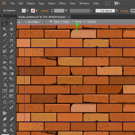 adobe illustrator how to change pattern color how to create a brick seamless background in adobe illustrator