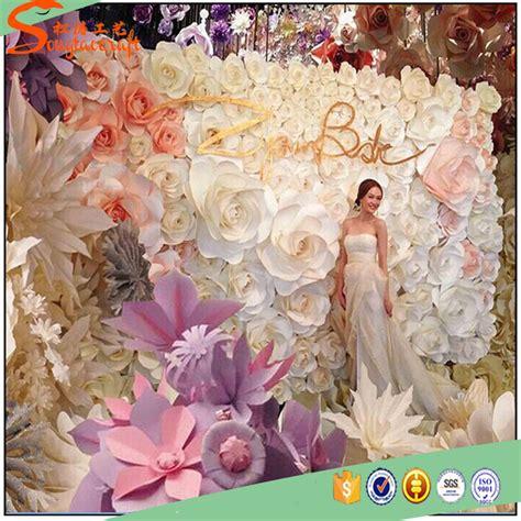 wall flower decoration ideas artificial flower for wall decoration paper artificial